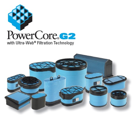 Powercore G2 filtry powietrza EurPol